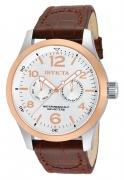 Invicta hombres 13010 I-Force cuarzo multifunción Silver dial reloj IW-06