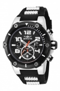 Reloj Invicta 17202 Speed Watch Quartz Chronograph, esfera negra, reloj IW-06