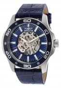 Invicta Men's 17259 Specialty Mechanical 3 Hand Blue Dial Watch IW-06