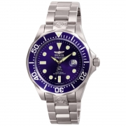 Invicta Men's 3045 Pro Diver Automatic 3 Hand Blue Dial Watch IW-06