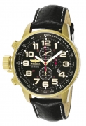 Invicta Men's 3330 I-Force Quartz Chronograph Black Dial Watch IW-06