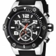 Reloj Invicta 17202 Speed Watch Quartz Chronograph, esfera negra, reloj IW-06