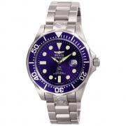 Invicta Reloj Para  hombres 3045 Pro Diver automático 3 manos dial azul reloj IW-06