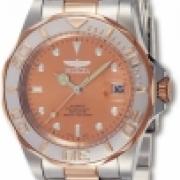 Invicta Hombres 9423 Pro Automatico Diver 3 Mano Rose Gold Dial Reloj IW-06
