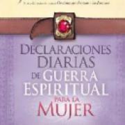 Declaraciones diaria de guerra espiritual para la mujer AD-03 9751621361657
