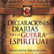 Declaraciones diarias para la guerra espiritual AD-03 9781616385439