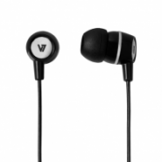 Stereo Earbuds with Inline Microphone IM-04-HA110-BLK-12NB
