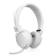 Lightweight Stereo headset Adjustable Headband with Microphone IM-04 HS2000-35-WHT-9NC