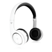 Bluetooth Wireless Headset Listen to music, hands free calling, NFC device pairing IM-04-HS6000-BT-WHT-9NC