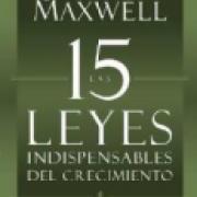 Las 15 leyes indispensables del crecimiento AD-03 9781455525447