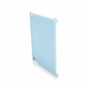 Snap-on Protective Back Cover for iPad 2 Compatible with Apple Smart Cover and includes protective film IM-04 TA15BLUE-CF-9N