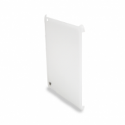 Snap-on Protective Back Cover for iPad 2 Compatible with Apple Smart Cover and includes protective film IM -04-TA 15WHT-CF-9N