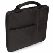 """Sleeve with additional pocket for iPad fits Tablet PCs up to 9.7"""" and iPad Air & iPad IM-04-TA20BLK-1N"""