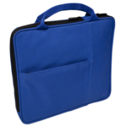 """Sleeve with additional pocket for iPad fits Tablet PCs up to 9.7"""" and iPad Air & iPad IM-04-TA20BLU-1N"""