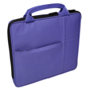 """Sleeve with additional pocket for iPad fits Tablet PCs up to 9.7"""" and iPad Air & iPad IM-04-TA20PUR-1N"""