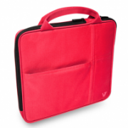 """Sleeve with additional pocket for iPad fits Tablet PCs up to 9.7"""" and iPad Air & iPad IM-04-TA20TRF-1N"""