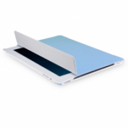 Slim Tri-Fold Folio and Stand for iPad 2, 3, 4 All-in-One protection for front and back IM-04 TA37BLU-2N