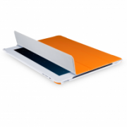 Slim Tri-Fold Folio and Stand for iPad 2, 3, 4 All-in-One protection for front and back IM-04 TA37ORG-2N