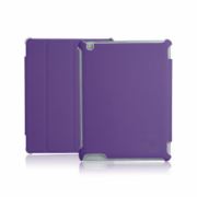 Slim Tri-Fold Folio and Stand for iPad 2, 3, 4 All-in-One protection for front and back IM-04 TA37PL-2N