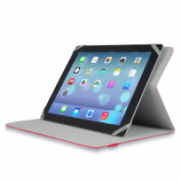 """Slim Universal Folio Case For iPad® and Tablet PCs between 9"""" to 10.1"""" IM-04 TUC20-10RED-14N"""