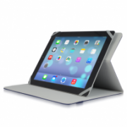 """Slim Universal Folio Case For iPad® mini and Tablet PCs between 7"""" to 8"""" IM-04 TUC20-8-BLK-14N"""